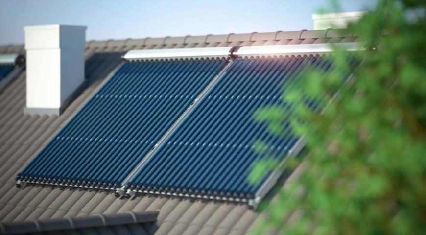 Pannelli solari per acqua calda e riscaldamento