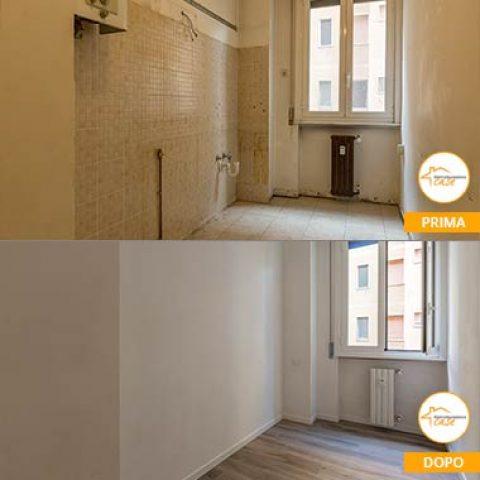 Ristrutturazione appartamento di 65 mq