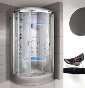 cabina doccia rotonda