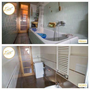Ristrutturazione case appartamento bagno piastrelle 6mq