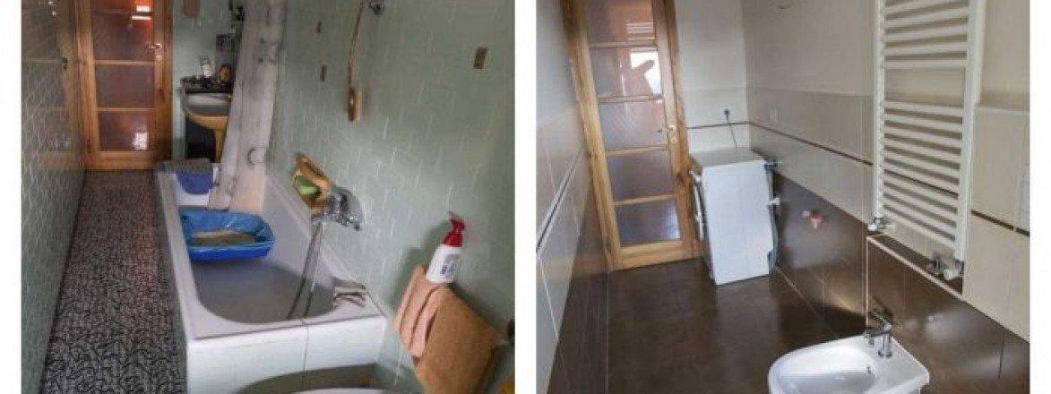 Ristrutturazione bagno 6mq una piccola stanza completamente - Ristrutturazione bagno padova ...