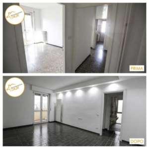 Renovierung von Häusern - Zwei-Zimmer-Renovierung 45mq