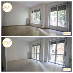 Renovierung von Häusern Zweizimmerwohnung 66qm Zimmer