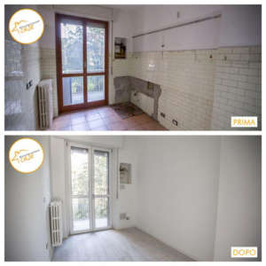 Renovation of total multi-room houses with parquet 110sqm