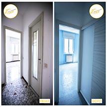 Renovierung von Häusern - Zwei-Zimmer-Renovierung 48mq