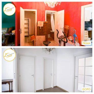 Ristrutturazione case appartamento bilocale entrata 62mq