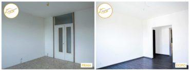 Ristrutturazione case interventi pavimentazione parquet rinnovato
