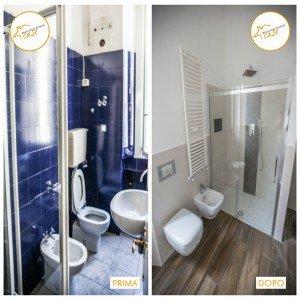 Ristrutturazione Case nuovo stanza rinnovata doccia moderna