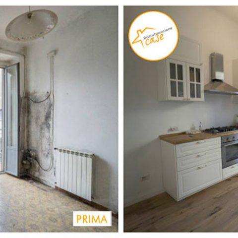 Renovación de casas de reestructuración de dos habitaciones 63mq