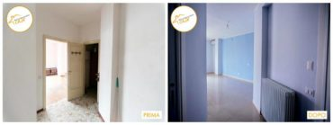 Ristrutturazione Case interventi stanza con finestra luminosa
