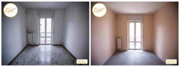 Ristrutturazione case rinnovo totale sala entrata