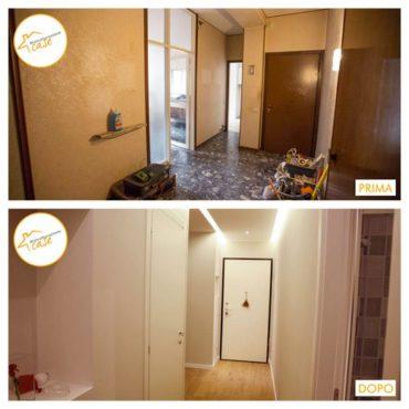Ristrutturazione case appartamento completa entrata 81mq