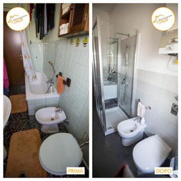 Ristrutturazione case piccolo bagno