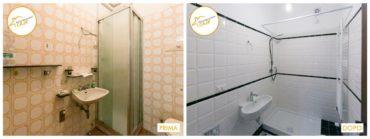 Ristrutturazione Case nuovo stanza rinnovata bagno piastrelle