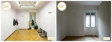 Ristrutturazione Case nuovo stanza rinnovata spazi