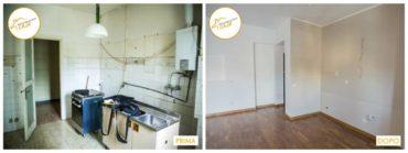 Ristrutturazione Case nuovo stanza rinnovata profondamente