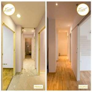 Renovierung von 3-Zimmer-Häusern mit insgesamt 74mq