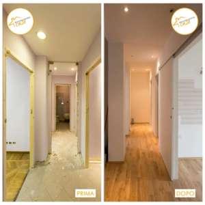 Renovierung Häuser neu renoviertes Zimmer