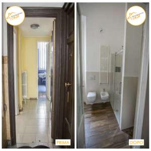 Renovierung Häuser neues Zimmer renoviert moderne Dusche