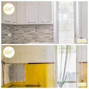 Renovierung der gesamten hellen Küchenhäuser