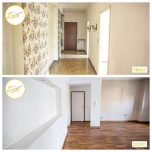 Renovierung von Häusern Wohnung Küche Halle Bad Parkett