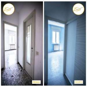 Renovierung der Zweizimmerwohnung insgesamt 48mq