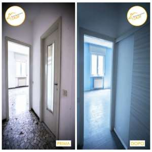 Renovation of 48 square meters entrance houses