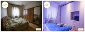 Umstrukturierung von Interventionshäusern in Schlafzimmern