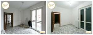 Renovation Case neues Zimmer renovierte Fußböden