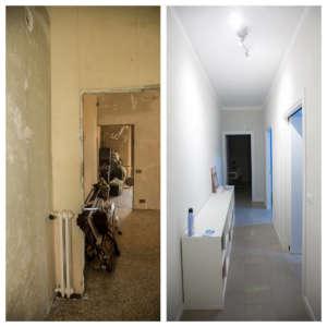 Renovierung neu renovierter Häuser