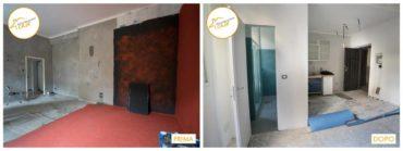 Ristrutturazione Case nuova camera soggiorno
