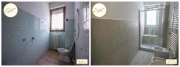 Ristrutturazione Case nuova camera doccia