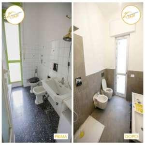 Renovierung der kompletten Zwei-Zimmer-Wohnung 52mq