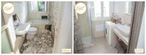 Umstrukturierung Häuser neue Badezimmer