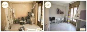 Renovierung von Häusern zur Renovierung des Jungenzimmers