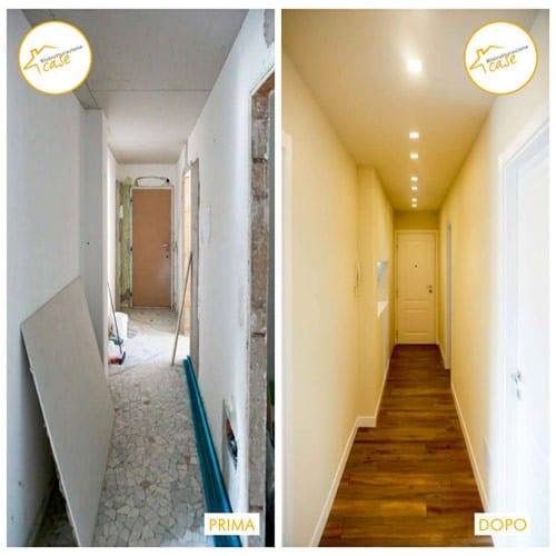 Renovación de apartamentos de dos habitaciones días 60.
