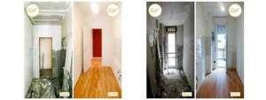 Renovierung Häuser nach Hause gemütliches Parkett