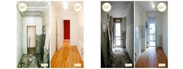 Ristrutturazione Case casa accogliente parquet