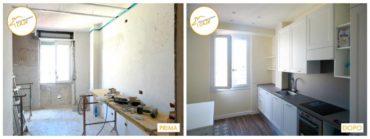 ristrutturazione case cucina legno
