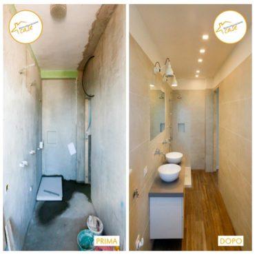 Ristrutturazione Case casa accogliente bagno parquet