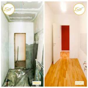 Renovierung von Zwei-Zimmer-Parketthäusern