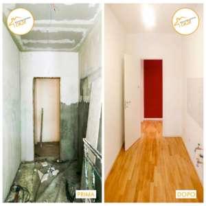 Restrukturierung Häuser nach Hause gemütliches helles Parkett