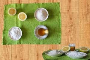 Essig-Zitrone-Salz