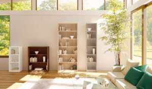 Bibliothek-Raum-Haus