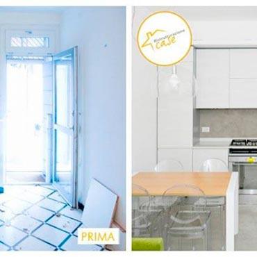 Ristrutturazione case - ristrutturazione piccola cucina