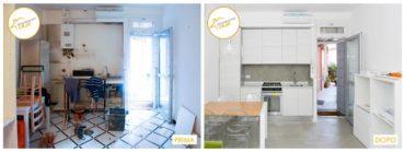 Ristrutturazione Case camera cucina