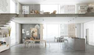 Ristrutturazione case pavimento resina