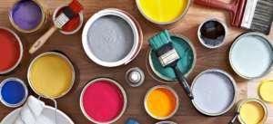 Farblich Wandmalerei