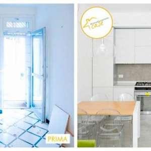 Hausrenovierung - Renovierung kleiner Küche