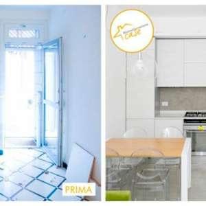 Renovierung der gesamten eingerichteten Küchenhäuser